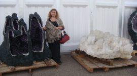 tucson gemstone show tour retreat with Nina-Bastet
