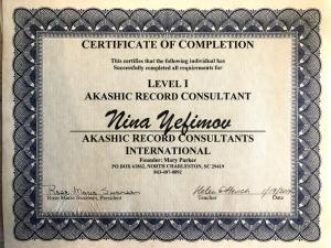 Akashic Records Consultant Nina-Bastet